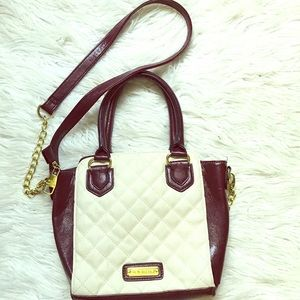 Steve Madden quilted faux leather purse